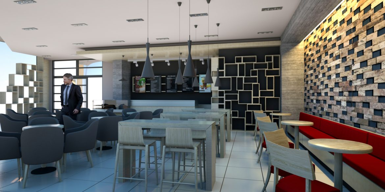 Proiect Amenajare Cafenea Zvon Craiova
