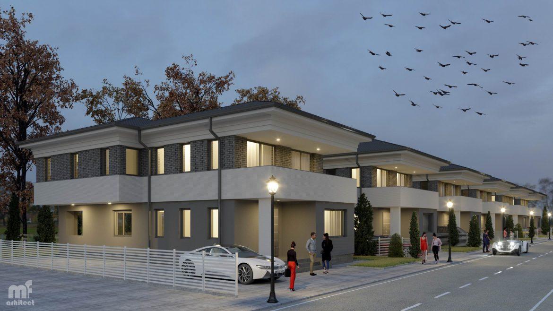 Arhitectura Ansamblu rezidential Otopeni Design superb