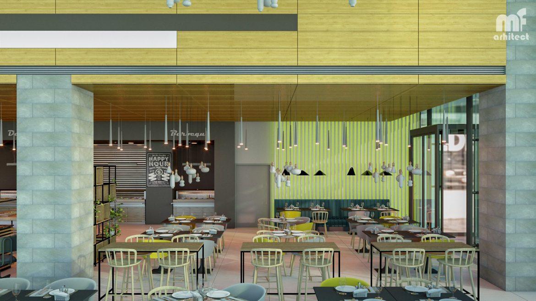 Arhitectura Proiect Restaurant Corporate